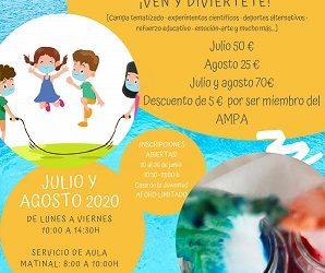 Campamento de Verano para niños/as