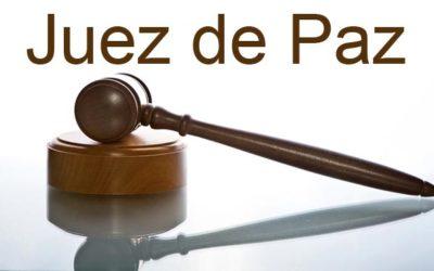 convocatoria pública para la designación del cargo de Juez de Paz titular de este municipio ( del 25/03/2021 al 16/04/2021 )